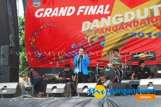 Grand Final Dangdut Pangandaran 2014