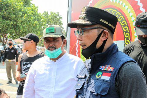 Gubernur Jabar Berlakukan Denda Bagi Yang Tak Pakai Masker, Begini Tanggapan Bupati Pangandaran