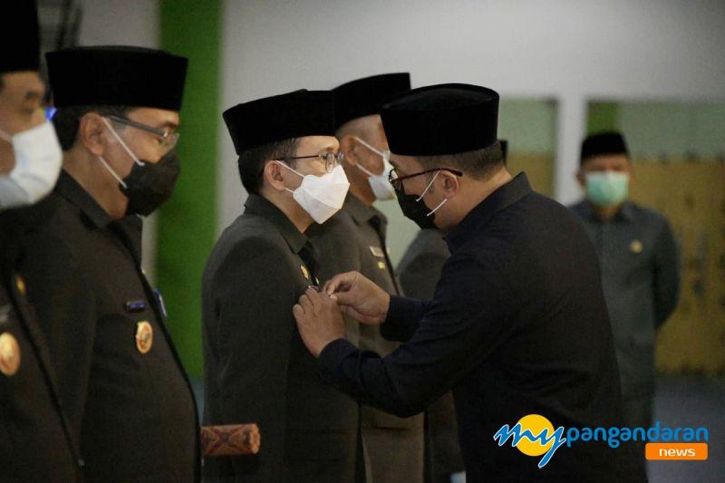 Gubernur Jawa Barat Kukuhkan Penjabat Sementara Bupati Pangandaran