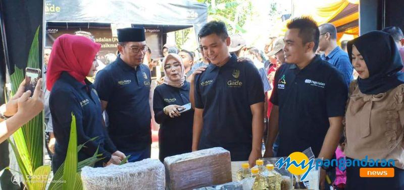Gubernur Jawa Barat Resmikan Bank Sampah di Pangandaran