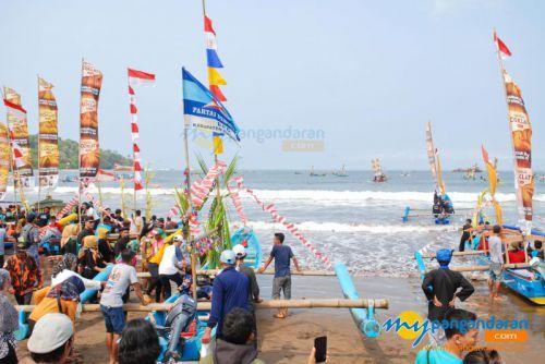 Hajat Laut Pantai Pangandaran Digelar 1 Muharram 1441H