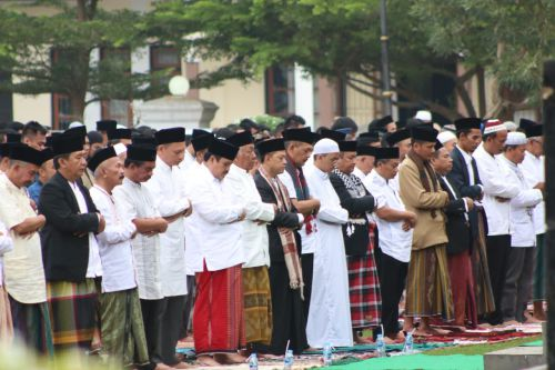 Hari Ini Pangandaran Gelar Shalat Idul Fitri 1440 H