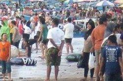 Hari Ketiga Liburan, Pangandaran Nihil Korban Tenggelam