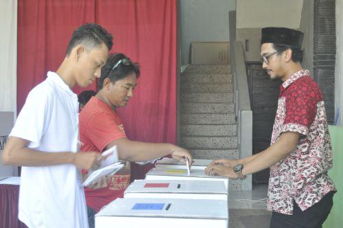 Hasil Perhitungan Sementara Jokowi-Maruf Amin Menang di Desa Pangandaran