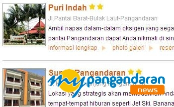 Hotel Berbintang di Pangandaran Sudah Habis Dibooking