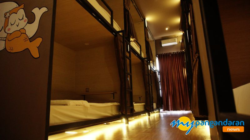 Hotel Kapsul Untuk Backpacker Hadir di Pangandaran