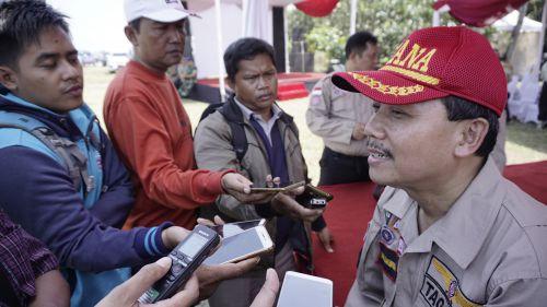 HUT TAGANA Ke-15, Sekda Jawa Barat Iwa Karniwa Dukung Pembentukan Kampung Siaga Bencana
