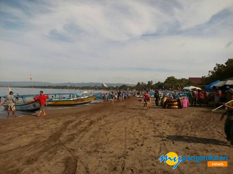 Ini Kondisi Pantai Pangandaran 2 Hari Pasca Gempa Tasikmalaya