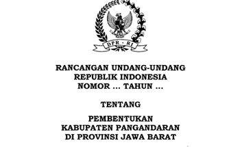 Inilah Isi Lengkap RUU Kabupaten Pangandaran yang Telah Disahkan