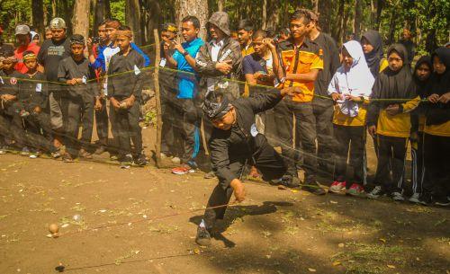 Jaga Kelestarian Permainan Tradisional, PPWP Pangandaran Gelar Adu Panggal