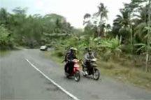 Jalan Menuju Pangandaran Banyak Yang Rusak