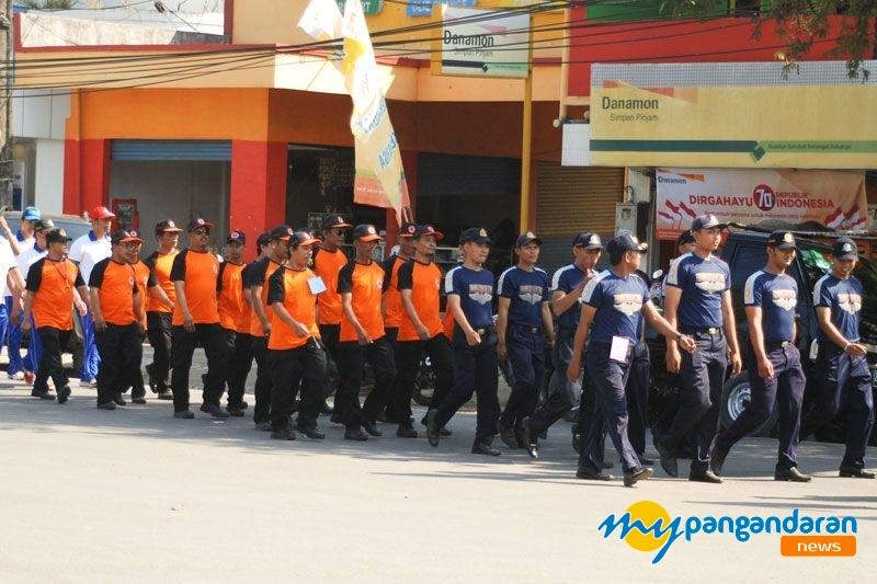 Jalan Sehat Menjelang Hari Kemerdekaan NKRI ke 70