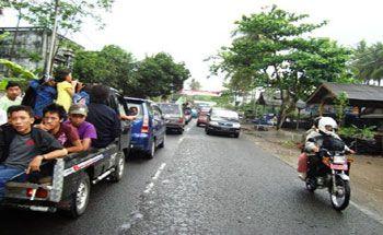 Jalur Alternatif Menghindari Kemacetan, Tahun Baruan Di Pantai Pangandaran