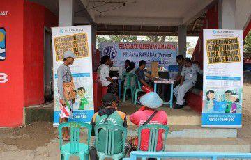 Jasa Raharja Tasikmalaya Beri Pengobatan Gratis di Pangandaran