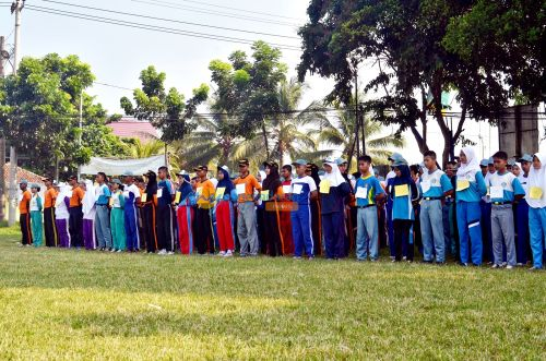 Jelang Agustus, Disdikbudpora dan Purna Paskibraka Pangandaran Seleksi Wakil dari Kabupaten