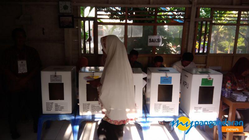 Jokowi-Maruf Amin Unggul Telak di Kecamatan Pangandaran, Ini Rinciannya