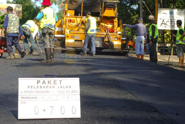 Kabupaten Pangandaran Kebut Infrastruktur Jalan