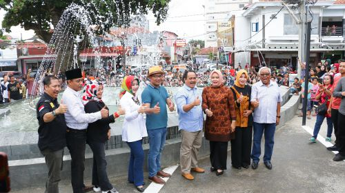 Kado Tahun Baru, Ridwan Kamil Resmikan Penataan Kawasan Destinasi Wisata Pangandaran