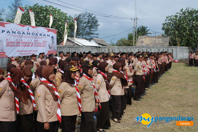 Kwarcab Pangandaran Peringati Hari Pramuka ke-56