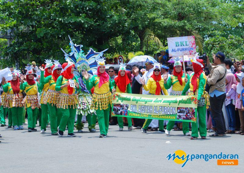 Karnaval Budaya Dalam Rangka MIlangkala ke-6 Kab. Pangandaran Berlangsung Meriah