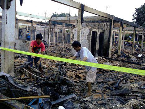 Kebakaran Pasar Wisata Menyisakan Kesedihan