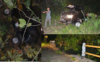 Kecelakaan Tunggal di Emplak Pangandaran, Tidak Ada Korban Jiwa