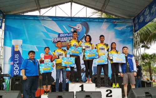 Kejuaraan Isoplus Pangandaran Beach Run 2018 digelar di Boulevard Pangandaran