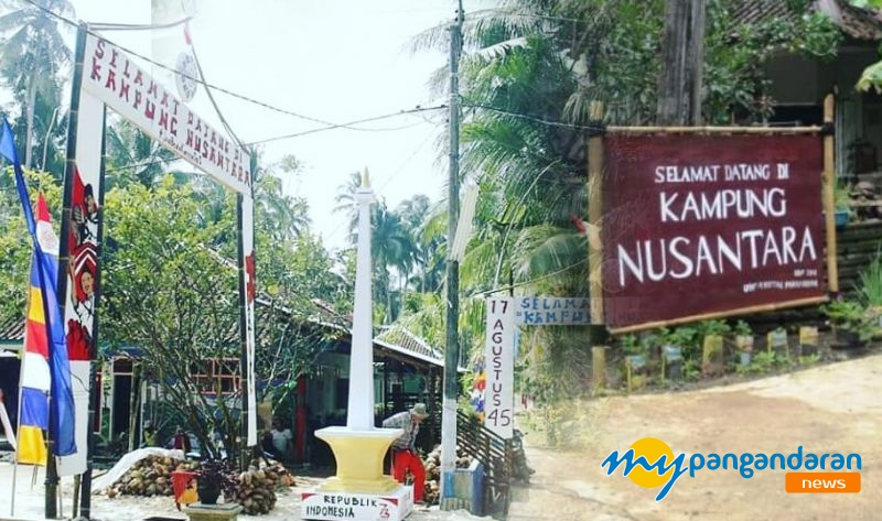 Keren, Gapura Agustusan di Kampung Nusantara Pangandaran Ini Sabet Juara Lomba Gapura