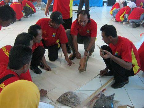 Kompepar dan HPP Berikan Pelatihan Kepada Pengrajin Di Cianjur