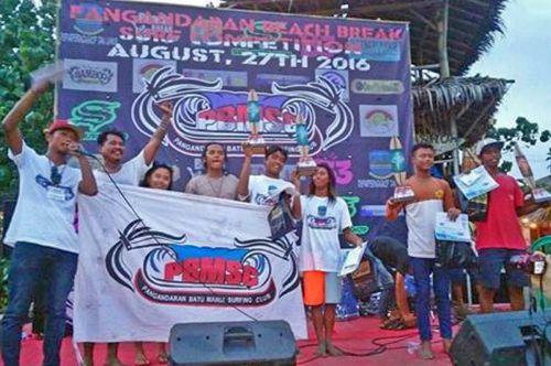 Kompetisi Surfing Pangandaran Kembali di Gelar