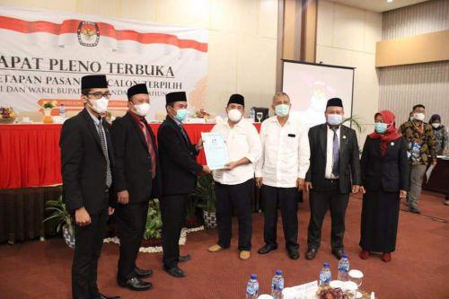 KPU Gelar Rapat Pleno Penetapan Pasangan  Calon Terpilih Bupati dan Wakli Bupati Pangandaran