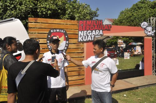 KPU Pangandaran Gelar Lomba Selfie di TPS Berhadiah Jutaan Rupiah
