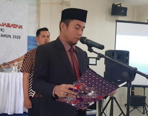 KPU Pangandaran Lantik 50 Anggota PPK
