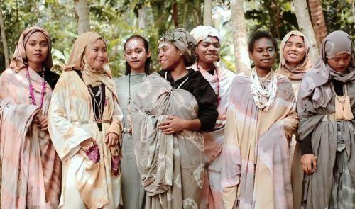 Kreatif, SMK Bakti Karya Parigi Akan Gelar Pameran dan Fashion show Shibori