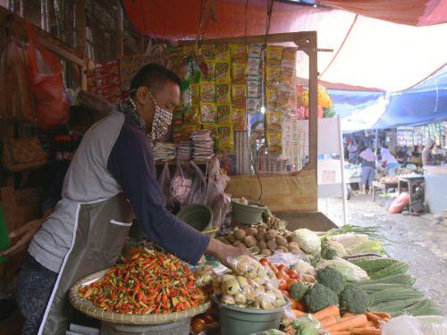 Lakukan Prosedur PSBB, Pasar Pangandaran Tutup Lebih Awal