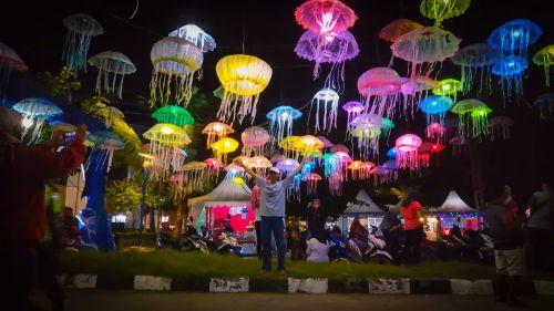 Lampion Ubur-ubur Di WJCF 2018, Digagas Akan Dijadikan Icon Pangandaran