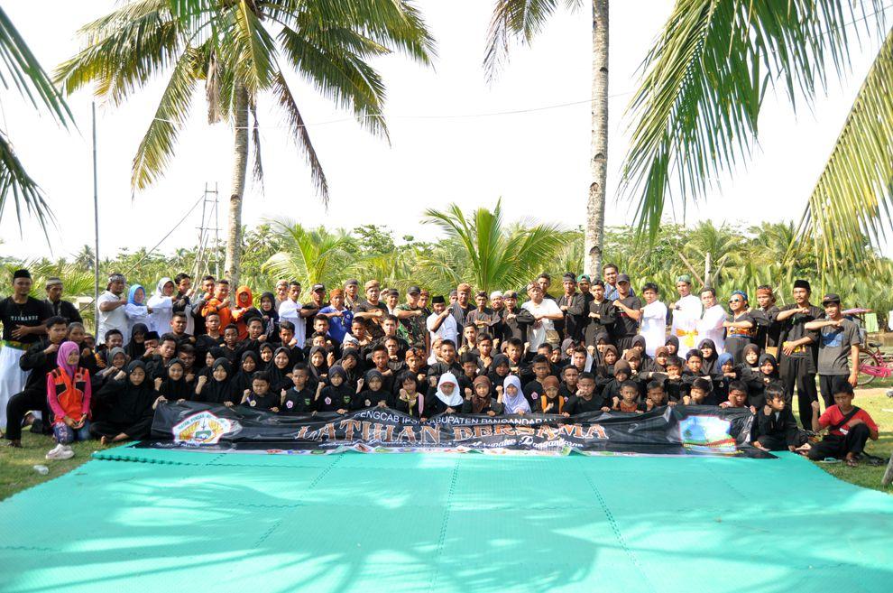 Latihan Bersama IPSI Kabupaten Pangandaran