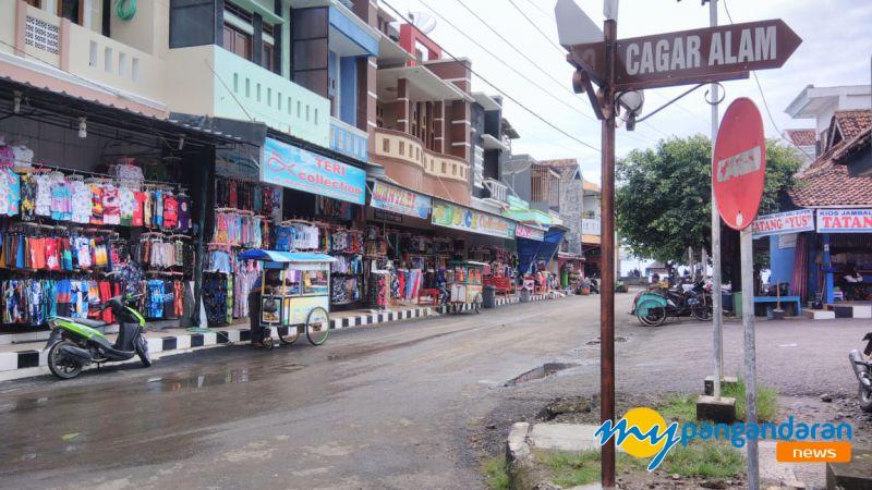 Liburan Nyepi, Pusat Oleh-oleh Pangandaran Masih Sepi Pembeli