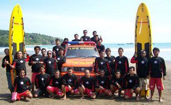 Libur Panjang, Balawista Tingkatkan Pengamanan Pantai Pangandaran
