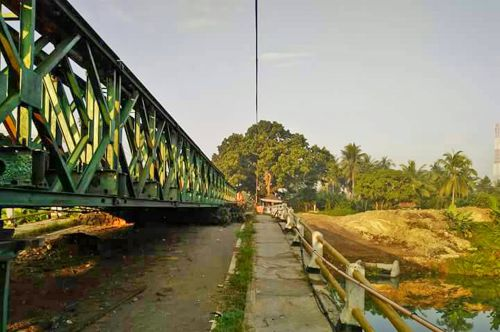 Libur Panjang Hari Raya Akses Ke Pangandaran Masih Melalui Jembatan Darurat