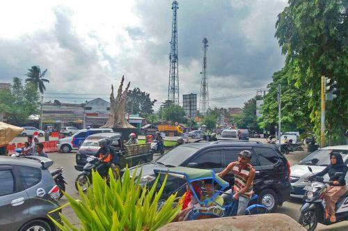 Libur Panjang, Pangandaran Terjadi Kemacetan Di Beberapa Titik
