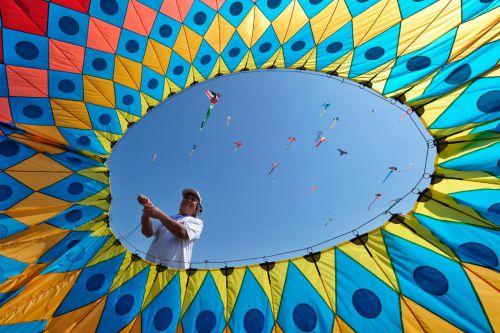 Lomba Foto Pangandaran International Kite Festival 2019, Inilah Para Pemenangnya