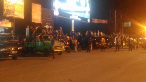 Lomba Tabuh Bedug Meriahkan Malam Takbir di Pangandaran