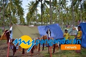 Lomba Tingkat III Pramuka Penggalang di Pangandaran,Dibuka Wakil Bupati Ciamis