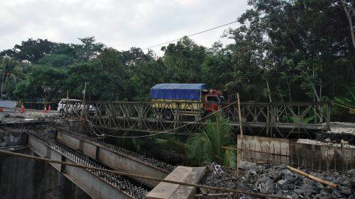 Macet Akibat Pembangunan Jembatan Lembah Putri, Begini Kata Bupati Pangandaran