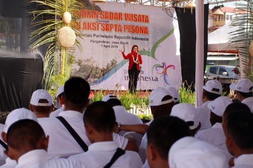 Masa Reses Puti Soekarno Pilih Pangandaran Sebagai Daerah Kunjungan