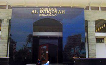 Masjid Besar Pangandaran Gelar Sholat Gerhana Pukul 9 Malam ini