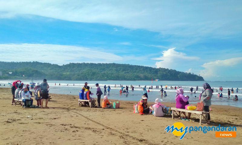 Menikmati Liburan Akhir Pekan di Pangandaran Berikut ini Prakiraan Cuacanya