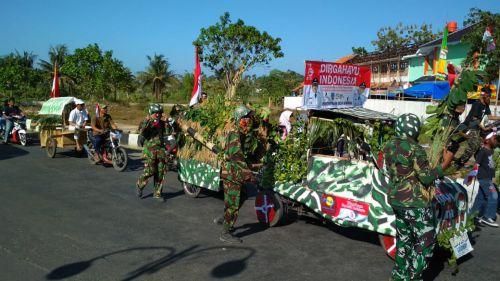 Meriahkan HUT RI ke-73, Pangandaran Adakan Karnaval Seni dan Budaya
