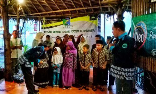 Meriahkan Ramadhan, ATTAP Gelar Santunan Anak Yatim dan Dhuafa